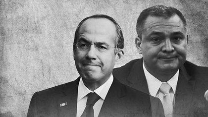 Felipe Calderón ha dicho que no sabe nada sobre las actividades ilegales del exministro de Seguridad Pública Genaro García Luna (Bellas Artes: Jovani Pérez Silva