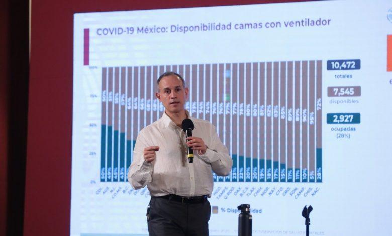 Rebrote de Covid podría extenderse hasta abril del 2021, advierte López-Gatell